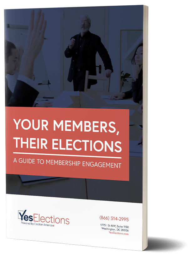 Your Members Their Election Cover